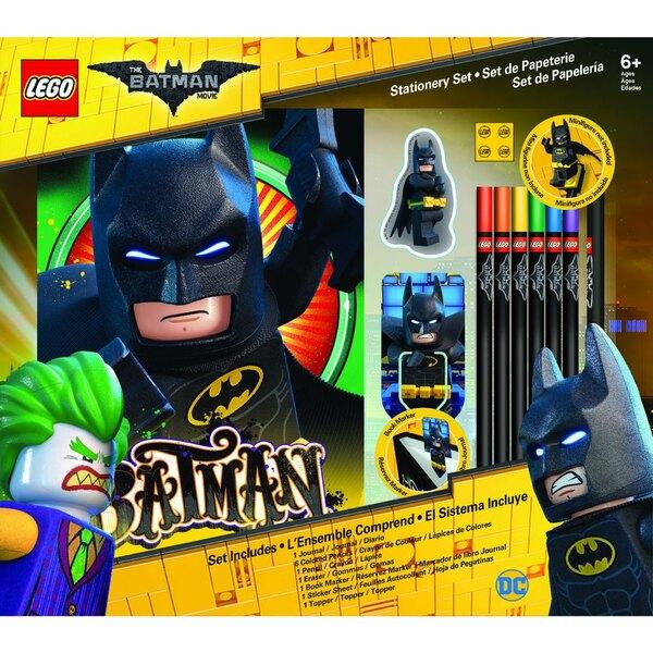 LEGO Batman Movie set papeterie 12 pièces