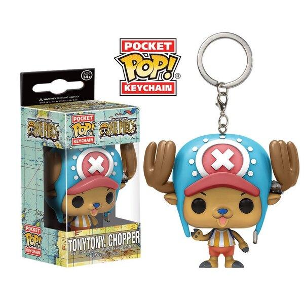 One Piece porte-clés Pocket POP! Vinyl TonyTony. Chopper 4 cm