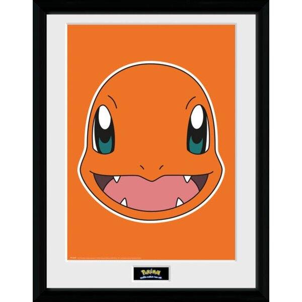 Pokemon poster encadré Salamèche 45 x 34 cm