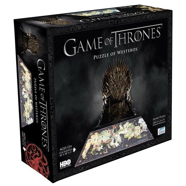 Le Trône de fer puzzle 3D Westeros (1500 pièces)
