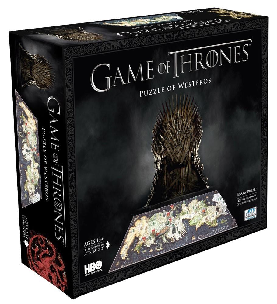 Puzzle 3d - Puzzle 3d Le Trône de fer puzzle 3D Westeros (1500 pièces)