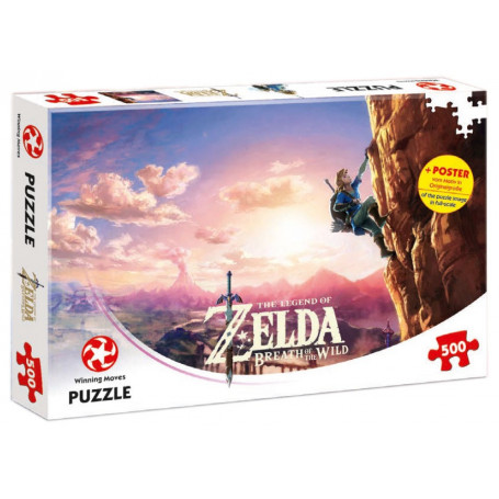 The Legend of Zelda Breath of the Wild Puzzle Climbing