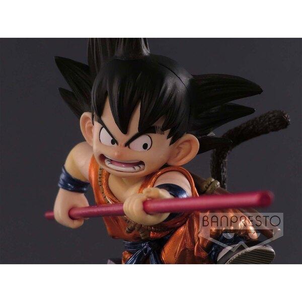 Dragonball Z figurine SCultures Young Son Goku Special Metallic Color Ver. 12 cm