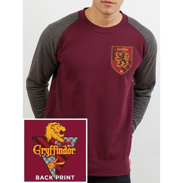 Harry Potter T-Shirt Baseball manches longues House Gryffindor