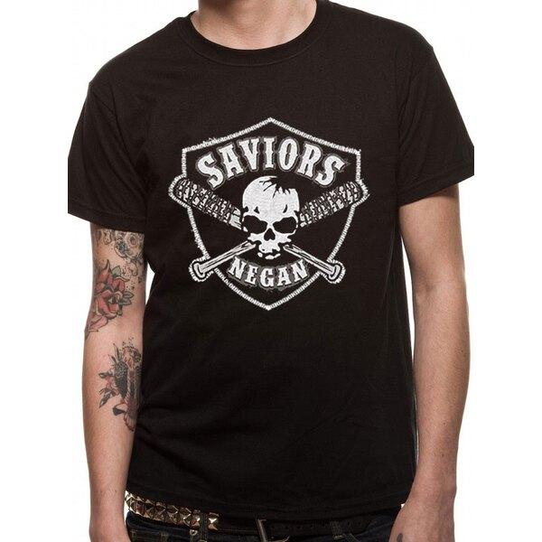The Walking Dead T-Shirt Saviours Crest