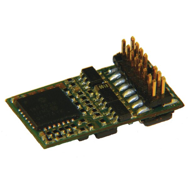 PluX16 decoder with feedback capability