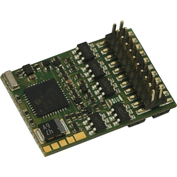 PluX22 decoder with feedback capability
