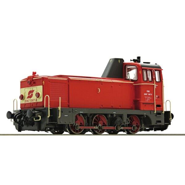 Diesel locomotive 2067 087-3, ÖBB