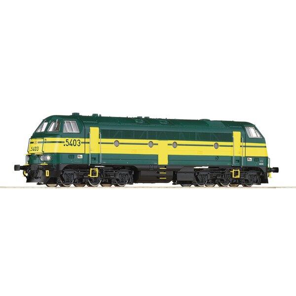 Diesel locomotive Reeks series 53, SNCB