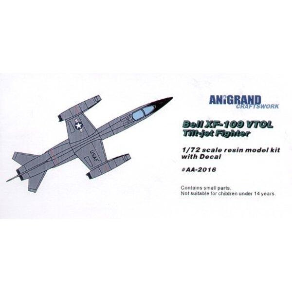 XF-109 jets Penchants chasseur supersonique à décolage vertical. En 1953 la Société d'Avion de Bell a développé un avion de rech