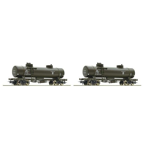 2 piece set: tank cars, USATC