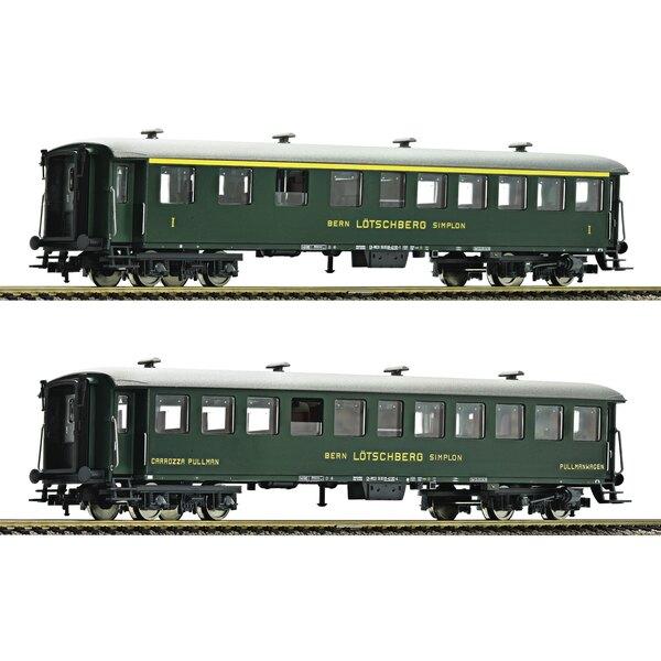 2 piece wagon set Swiss Classic Train (Set 1)