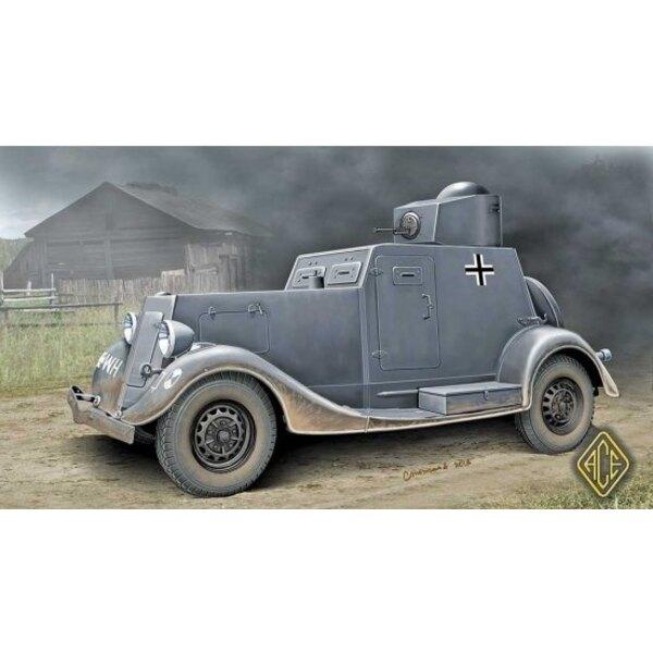Ba-20 (early) armoured car