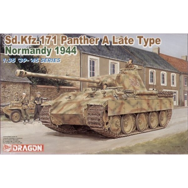 Pz.Kpfw.V Panther Ausf.A Sd.Kfz.171 Late type