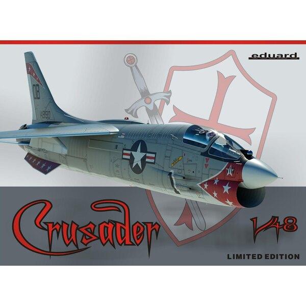 Vought F-8E Crusader en échelle 1/48.Edition limitée - pièces en plastique: Hasegawa - Nombre d'options de décalcomanies: 5 - d