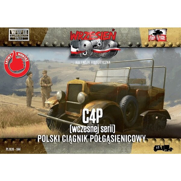 C4P Polish Artillery Tractor, Early production