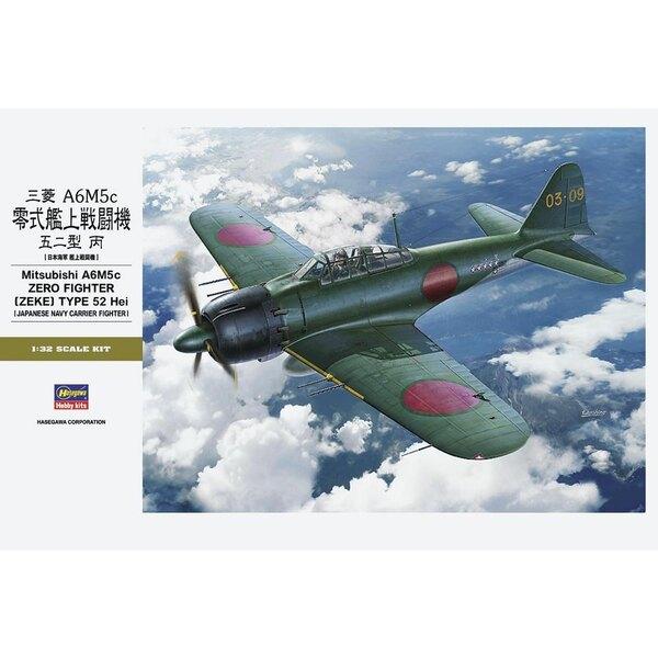 Mitsubishi A6M5c 'Zero' FIGHTER (ZEKE) TYPE 52 Hei New Tool Initialement, le Zero a été conçu comme un combattant de supériorité