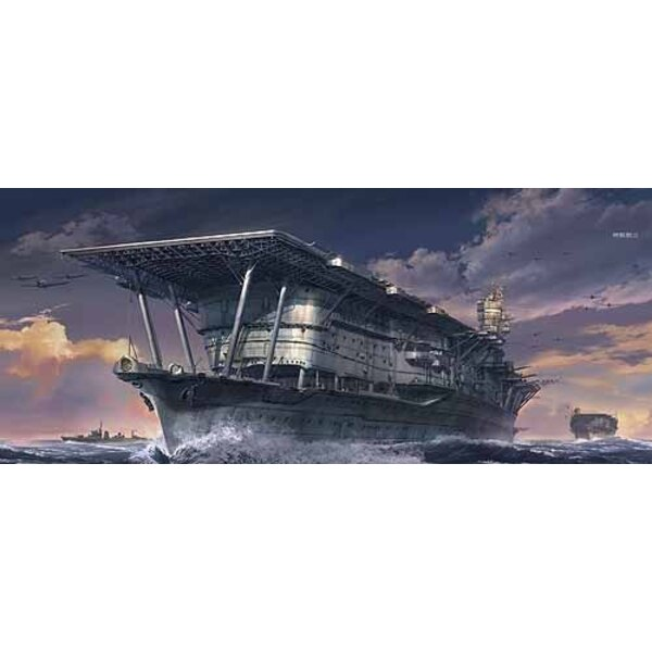 Akagi IJN Aircraft Carrier