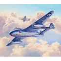 de havilland vampire f.3 (ex special hobby)a model construction kit of the first jet engined fighter