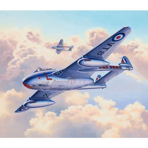 De Havilland Vampire F.3 (ex Special Hobby)A model construction kit of the first jet engined fighter aircraft to enter service w
