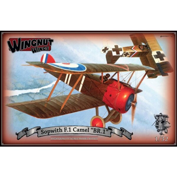 Sopwith F.1 Camel 'BR.1' High quality Cartograf decals for 5 aircraft -164 high quality injection moulded plastic parts - Option