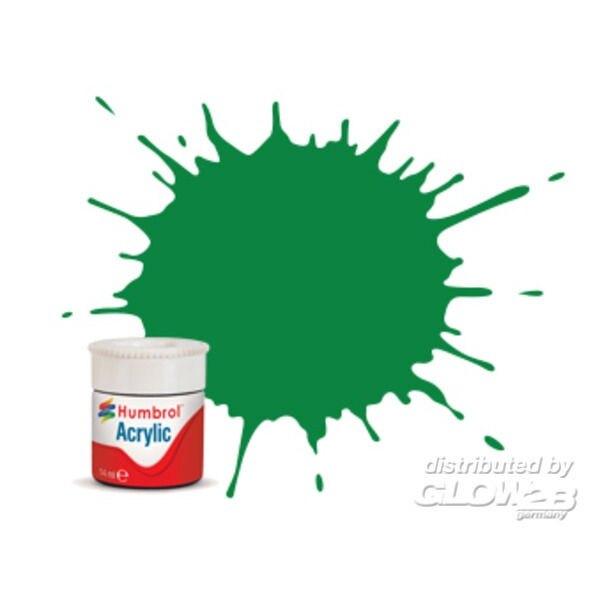 Acryl 002 Smaragdgrün glänzend 12 ml