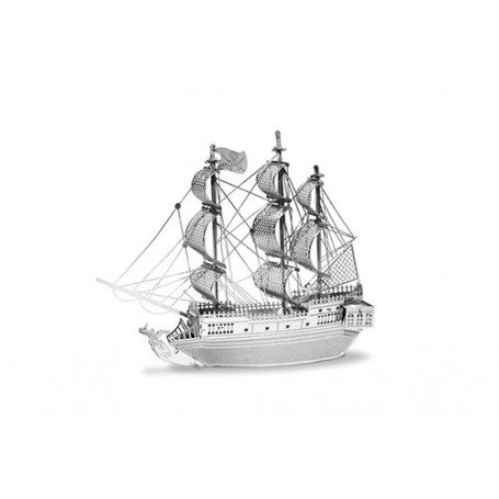 Pirate Bateau Navire Pirate Bateau Dragon Ruban Avec Perle Noire Broche Bijoux
