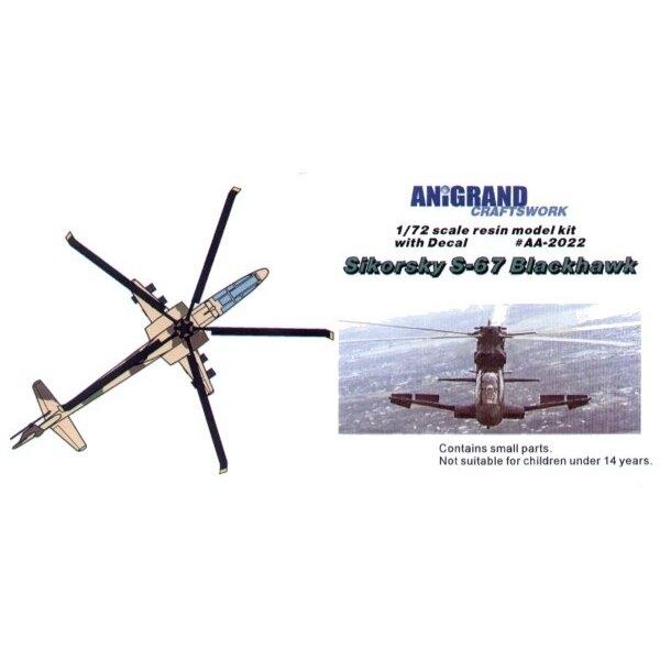 Sikorsky S-67 En 1964 l'Armée américaine a déjeuné la spécification AAFSS qu'en demandant un avion avec une grande vitesse la ca