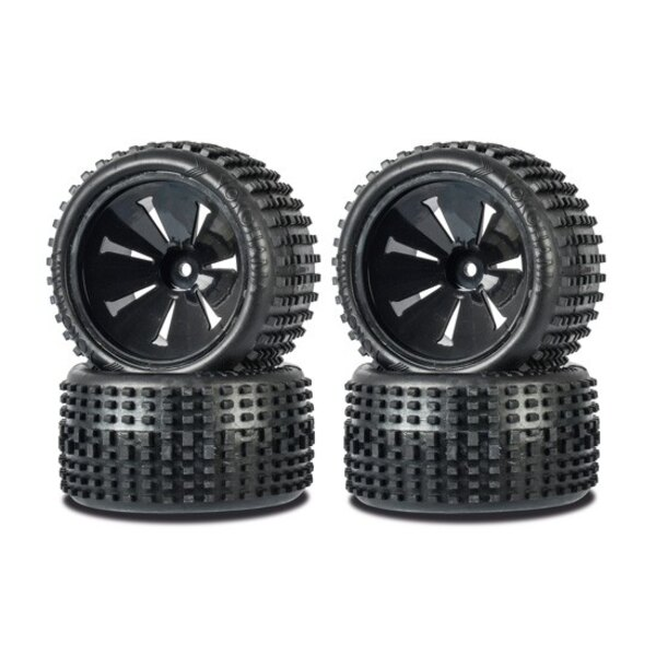 Roues 1/10 Truggy Big PIN (4WD)
