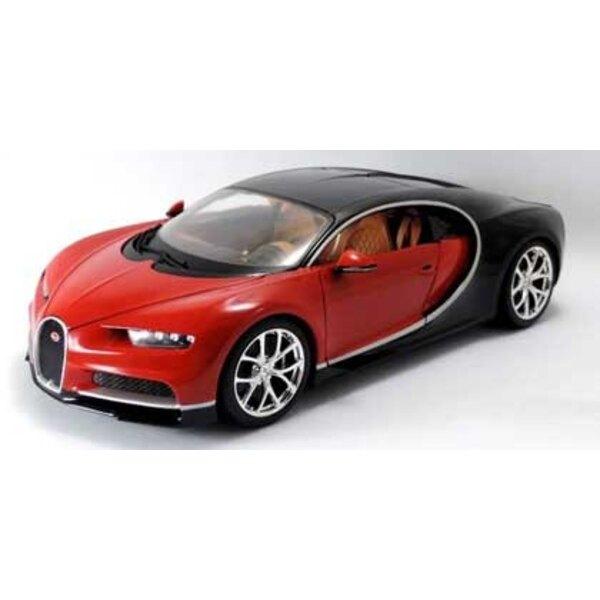 Bugatti Chiron rouge