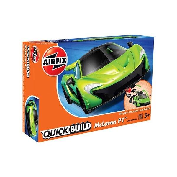 McLaren P1 nouvelle couleur BUILD rapide (pas de colle ou de peinture nécessaire) Airfix BUILD QUICK est une gamme passionnante