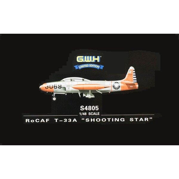 """Lockheed T-33A """"SHOOTING STAR"""" RoCAF"""