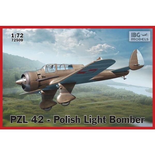 PZL.42 - Bombardier léger polonais