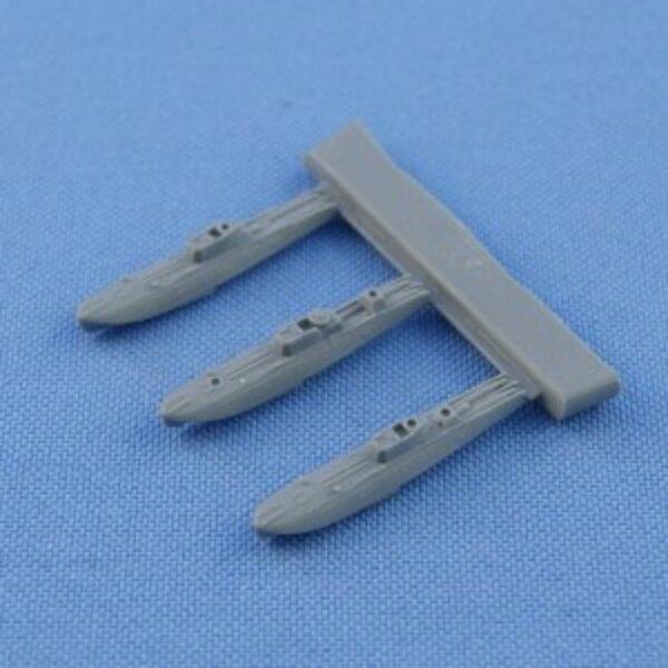 Soviétique G-5 classe torpilleur moteur 3 en 1 (avec la coque de la ligne de flottaison)