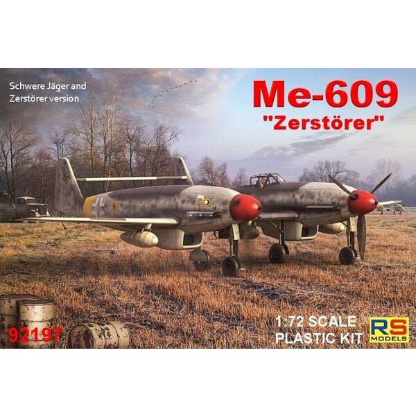 """Messerschmitt Me-609 Zerst """"Dürer (seule version de cockpit)"""