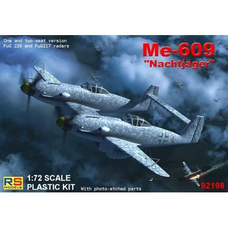 Messerschmitt Me-609 Nachtjager avec FuG 217 et 220 FuG radar (Double version cockpit)