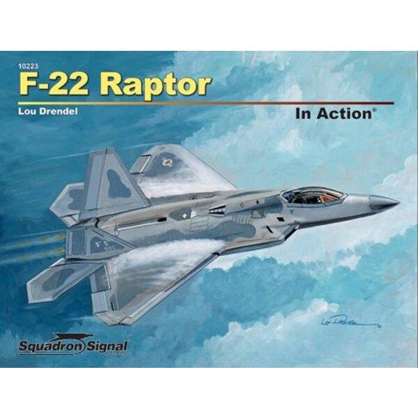 Livre F-22 Raptor (en série Action) Le seul siège, bimoteur Lockheed Martin / Boeing F-22A Raptor est le premier chasseur de cin
