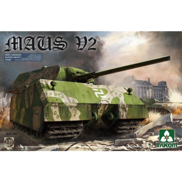 Maus V-2 Wwii German Super Heavy Tank