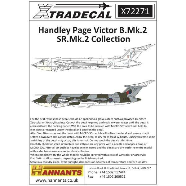 Handley-Page Victor B.2 (7) L'avion sur cette feuille a été changé depuis sa première publication.Si vous l'avez commandé, véri
