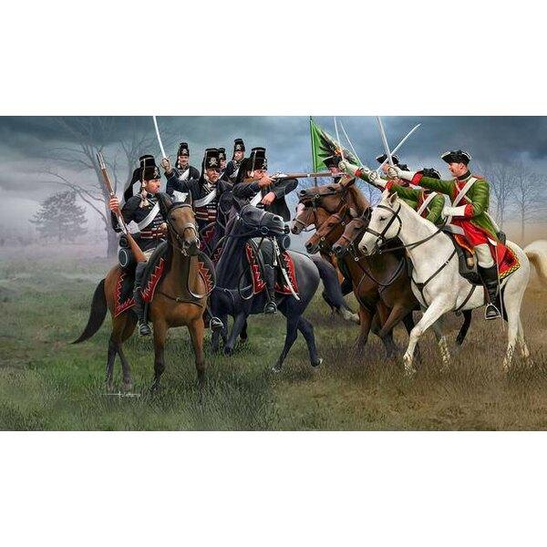 Guerre de sept ans (Dragons autrichiens et hussards soviétiques)