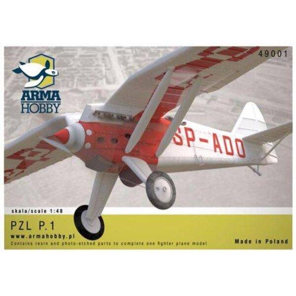 PZL P.1 Fighter.Le kit est comme d'habitude conçu et imprimé 3D, puis résistant à la résine.Il offre un ajustement parfait et