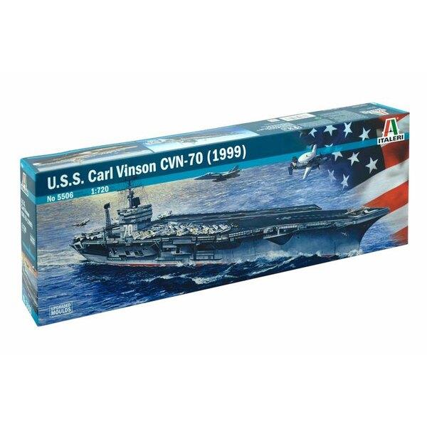L'USS Carl Vinson (CVN-70) est la troisième classe Nimitz, à propulsion nucléaire, le transporteur super des États-Unis Marine.
