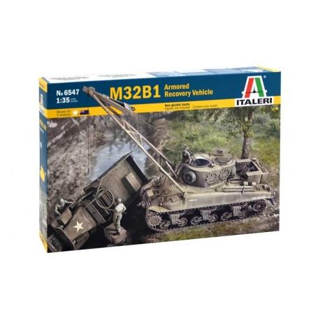 M32B1 ARV / Véhicule de récupération blindé [Sherman M4] Les véhicules de récupération blindés (ARV), ont été introduits pendant