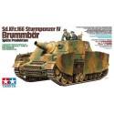 sd.kfz.166 sturmpanzer iv brummbar