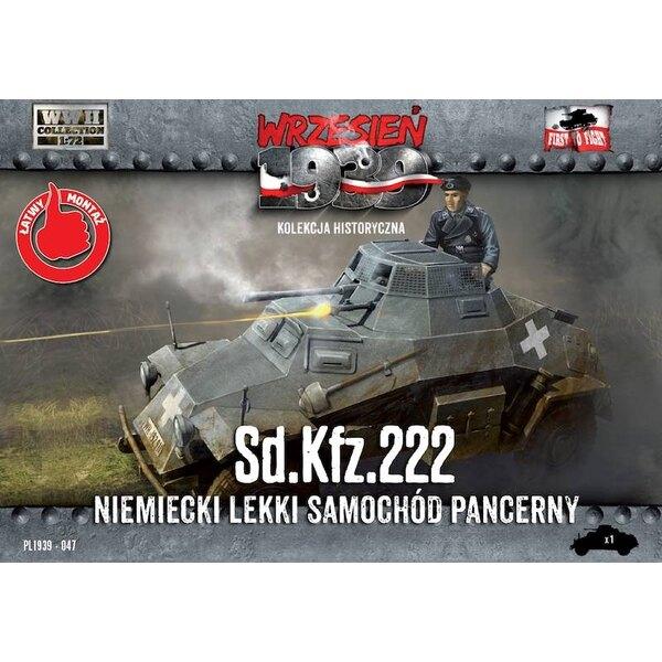 Sd.Kfz.222 - Allemand blindé léger Voiture - du 8 Août