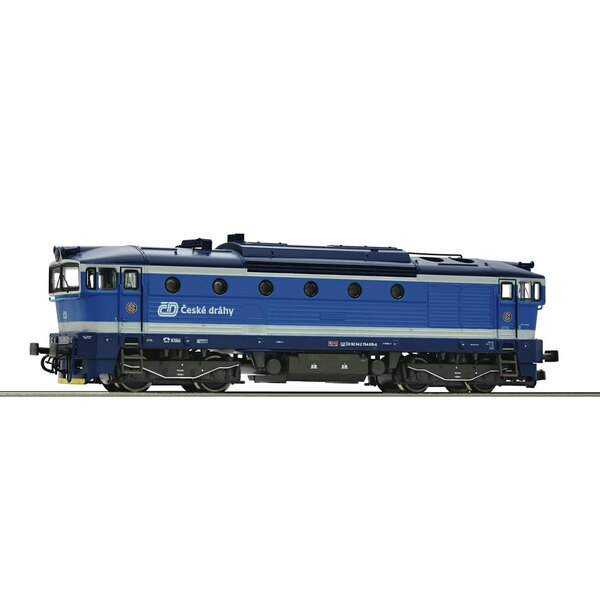 Diesel locomotive series 754, CD