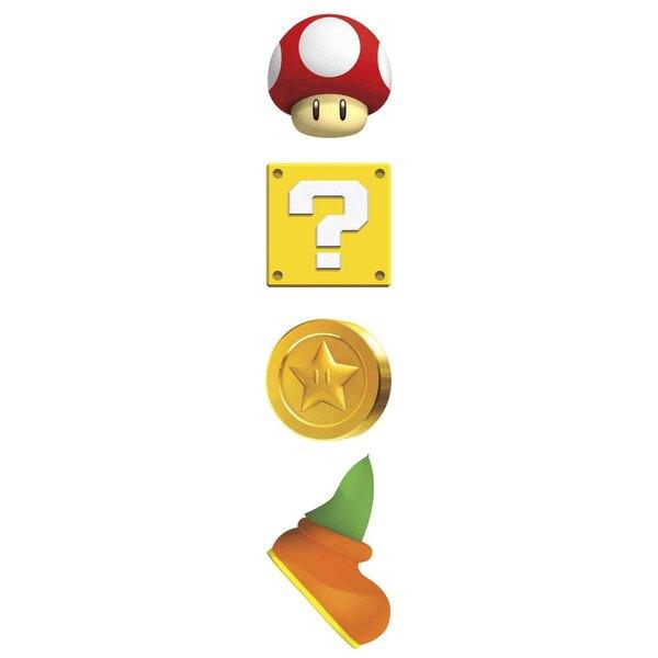 Nintendo Décoration vinyle repositionnable géante Yoshi & Mario