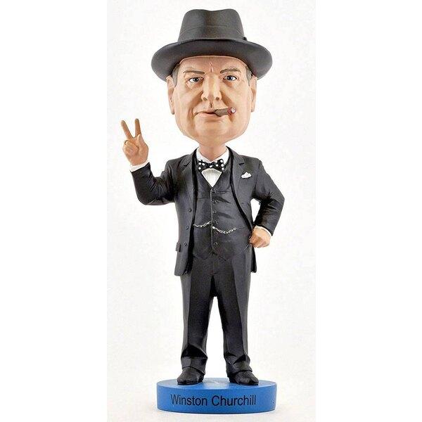 Winston Churchill Bobble Head Version 2 20 cm