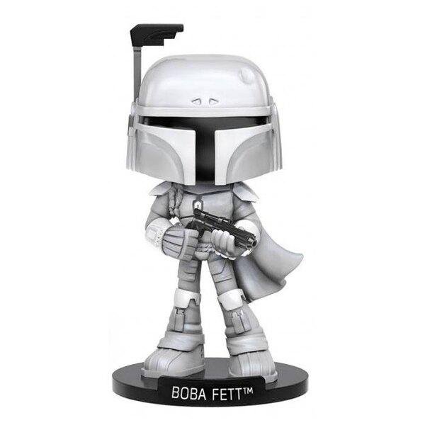 Star Wars Wacky Wobbler Bobble Head Boba Fett 15 cm