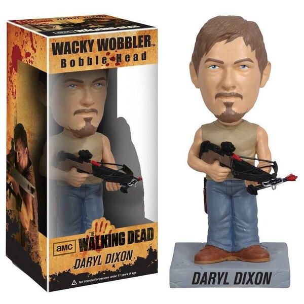 The Walking Dead Wacky Wobbler Bobble Head Daryl 18 cm